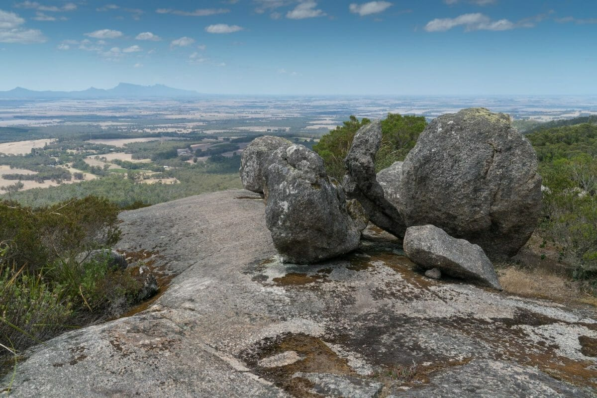 Walking in the Porongurup National Park