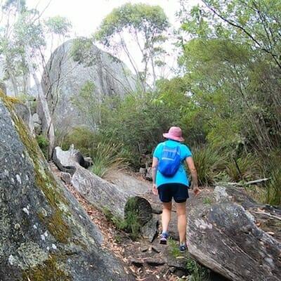 Walking to Castle Rock