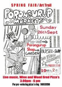 Porongurup Markets - Sunday 26 September 2021